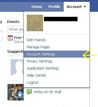 how to change the fb email address